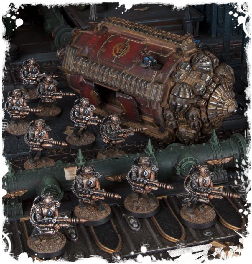 GW Releases New Adeptus Mechanicus Rules   for FREE