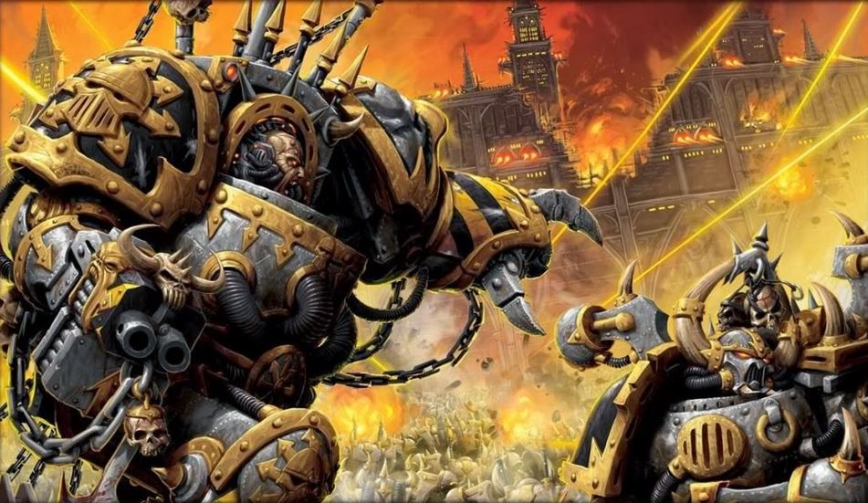 Warhammer Armies: Iron Warriors Tactics - Nights At The Game