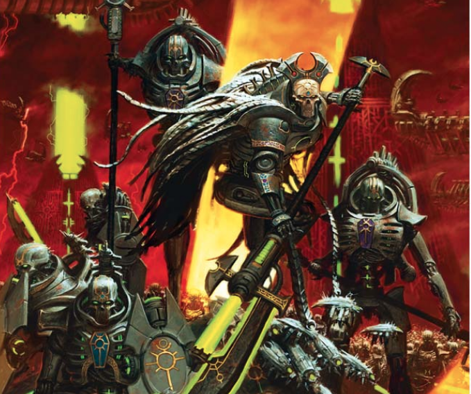Best Warhammer 40K Necron Lists 2019- Nights At The Game Table