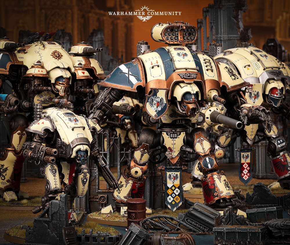 Forge World Imperial and Chaos Renegade Knights Updates - Nights At