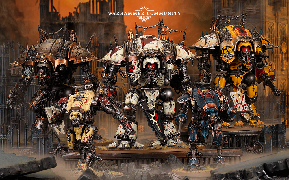 What We Know About Warhammer 40k Chaos Renegade Knights FAQ - Nights