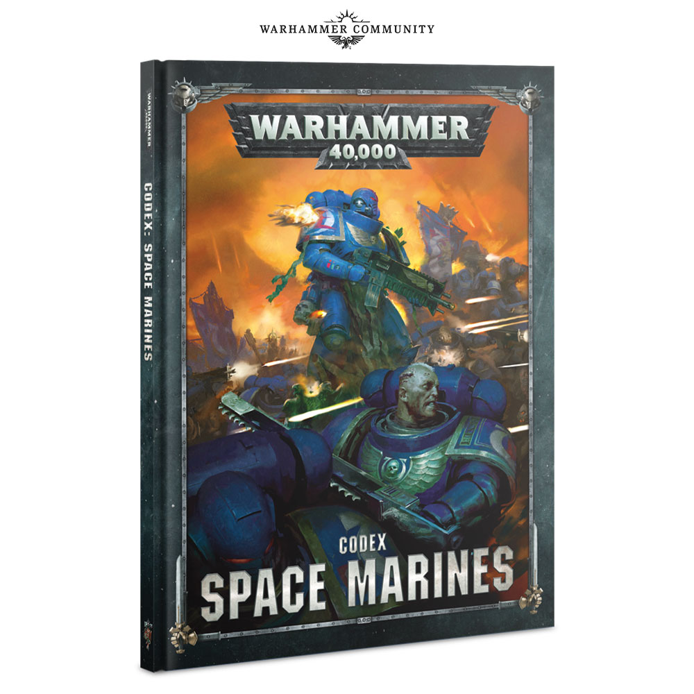 Warhammer 40k Space Marine Codex Review - Nights At The Game Table