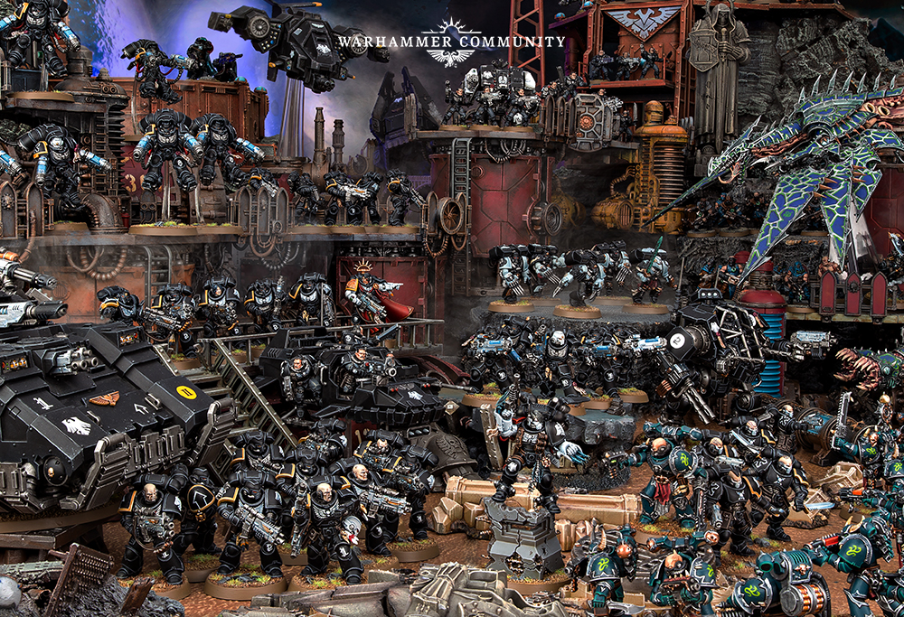 Sneak Peak Codex Supplement: Raven Guard - Nights At The