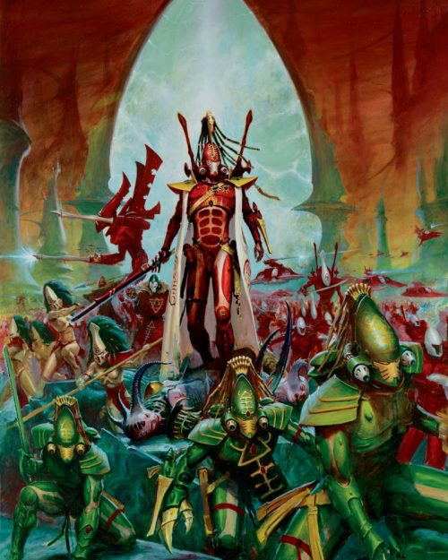 Craftworld Eldar Tactics: Beginner's Guide - Nights At The Game Table
