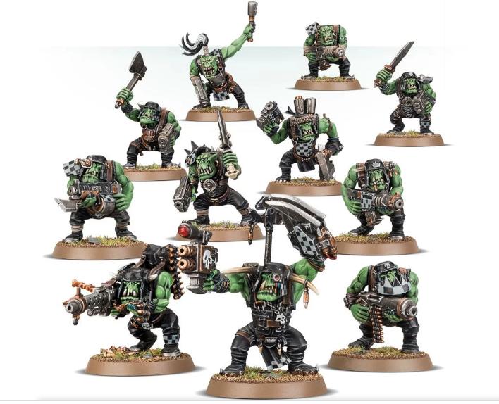 Ork tactics
