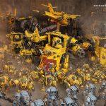 Falling Back in Warhammer