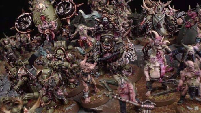 Death Guard Tactics