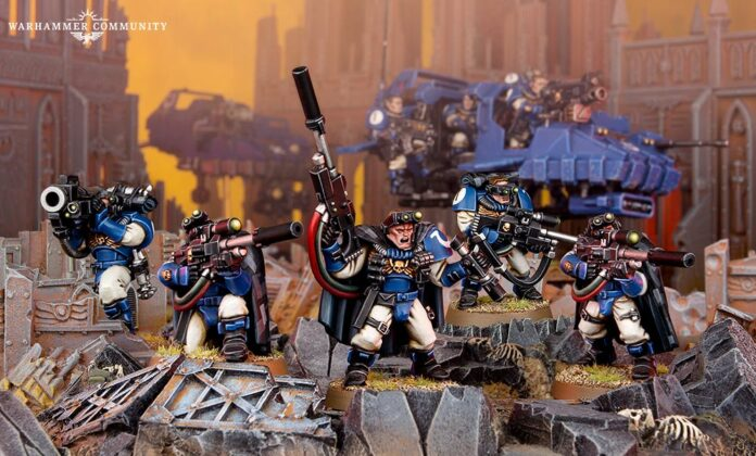 Heavy Weapons in Warhammer