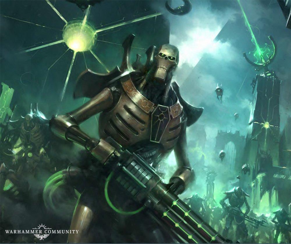 9th Edition Necron Codex in Warhammer 40K