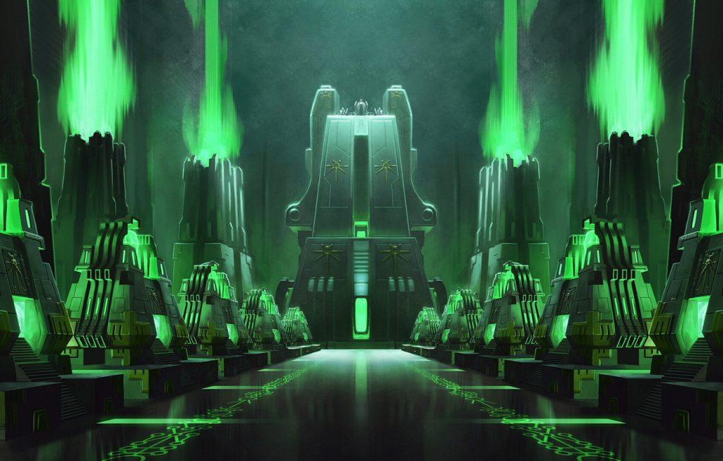 Warhammer 40K Necrons Lore