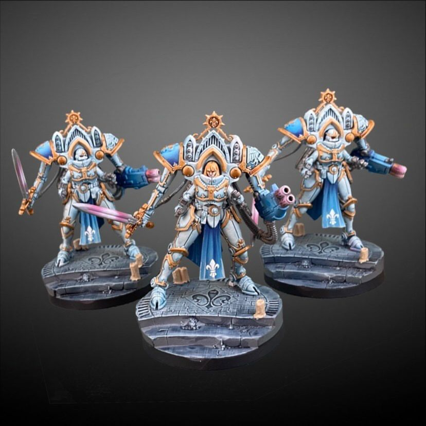 sisters of battle minis