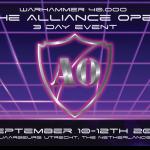the alliance open warhammer 40k